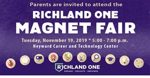 Richland one magnet fair