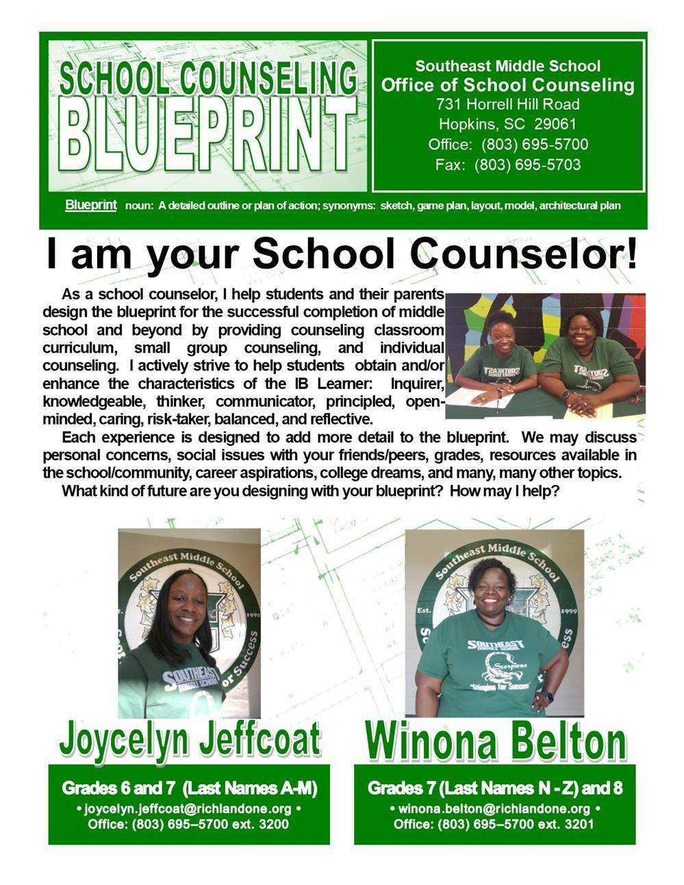 School Counseling Blueprint