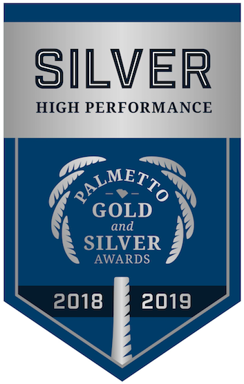 Gadsden Elementary Receives the Palmetto Silver Award!