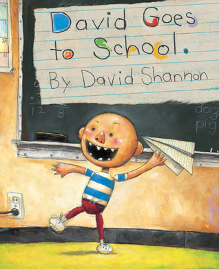 Book Cover of David Goes to School