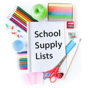 Image result for school supply list icon