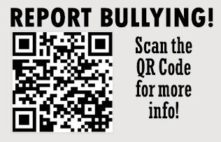 Report Bullying QR Code