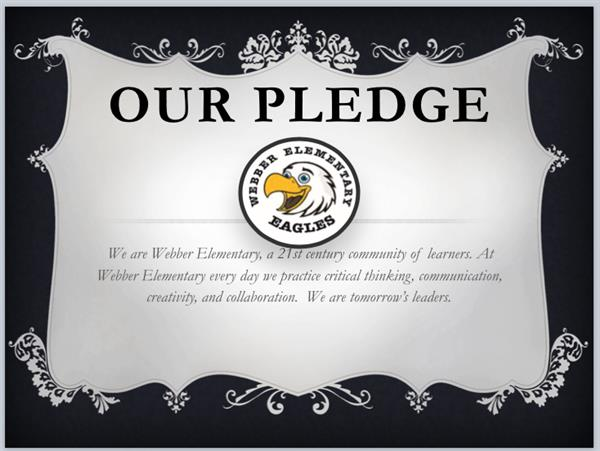 webber pledge