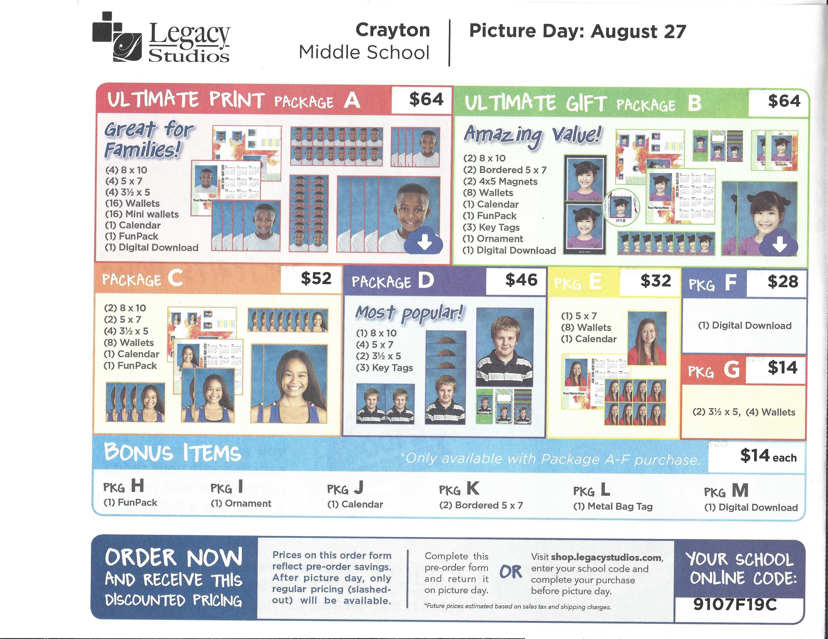 Crayton Middle School Simble – Billy Knight
