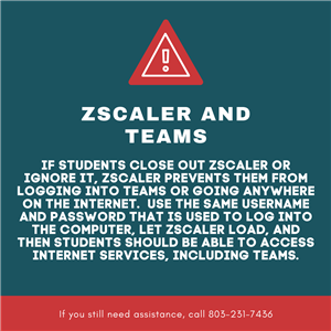 ZSCALER and Teams