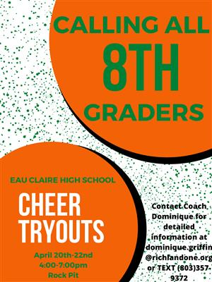 Calling all 8th Graders