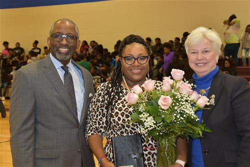 Dr. Robin Coletrain Middle School Principal of the Year