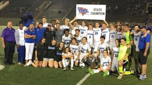 Dreher State Soccer Champions