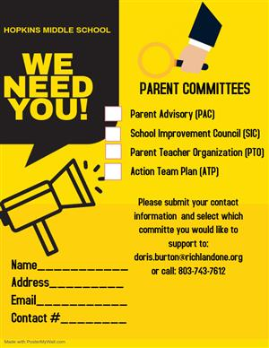 Parent Committees Flyer