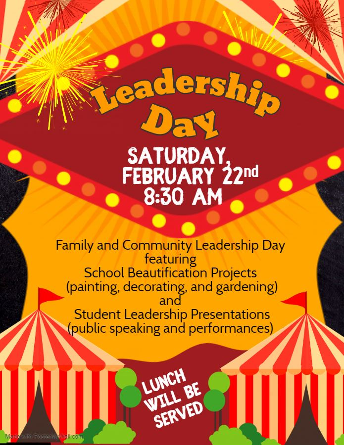 Save The Date: Leadership Day!