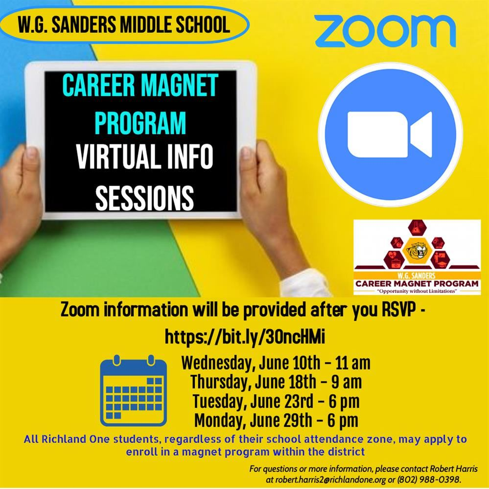 Career Magnent Program - Virtual Infomation Sessions