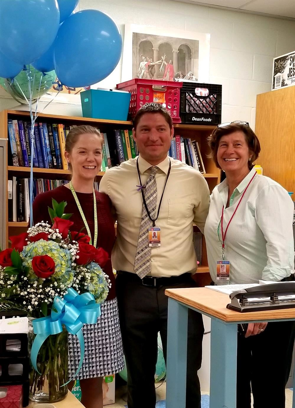 Mrs. Melvin Selected as Teacher of the Year