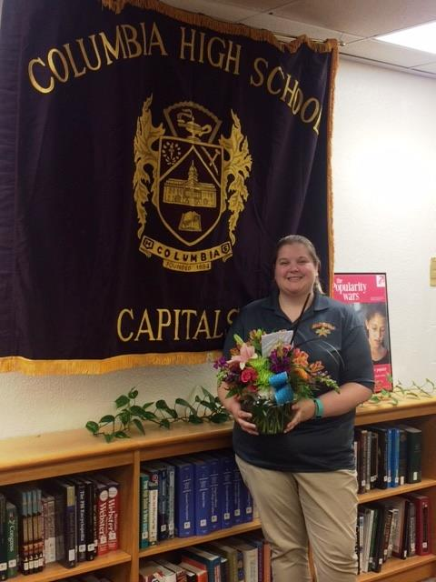 Congratulations to Ms. Emily Brown ~ 2017-2018 Teacher of the Year
