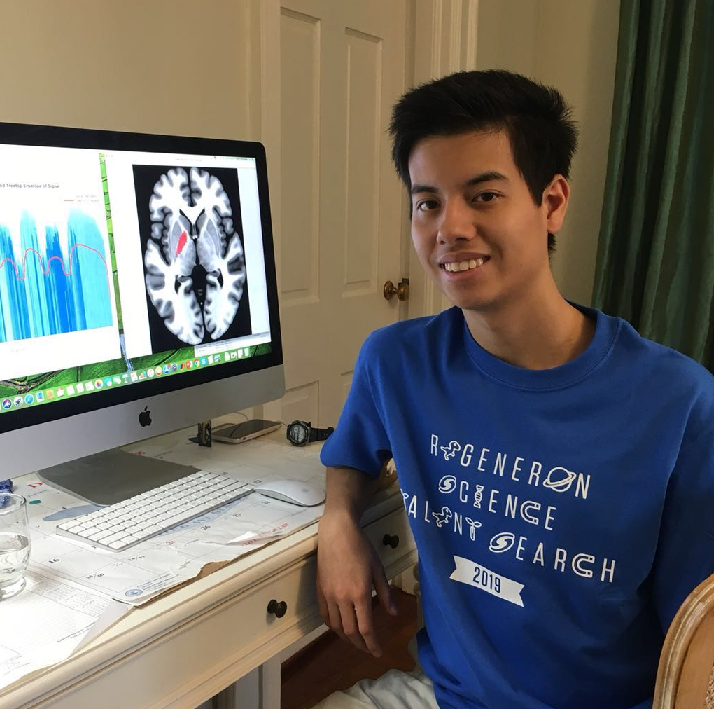 Senior Anthony Androulakis One of Two in SC Selected for National Youth Science Camp