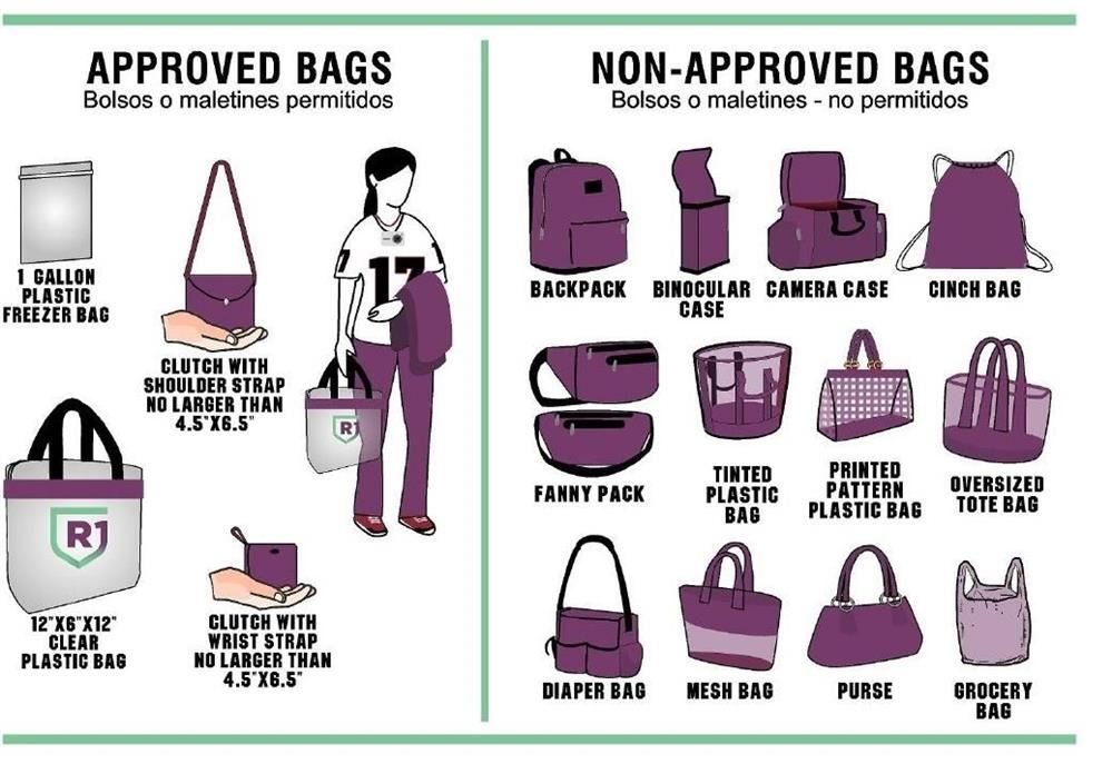 Richland One Implements Clear Bag Policy