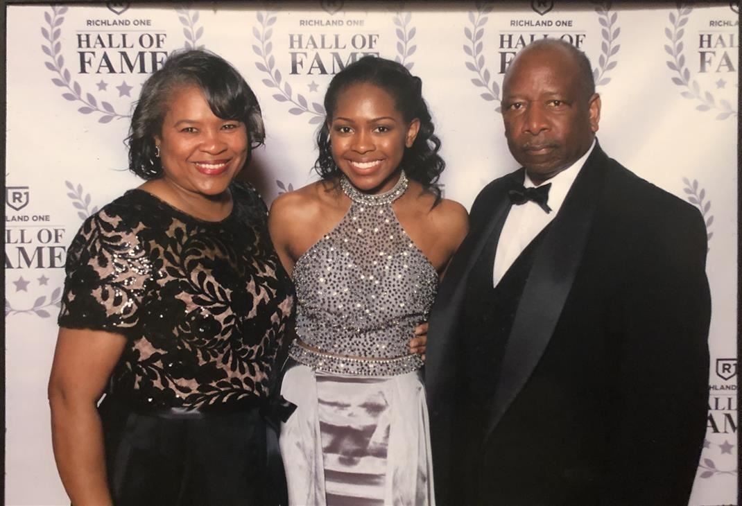 Arteria Gibson and Parents