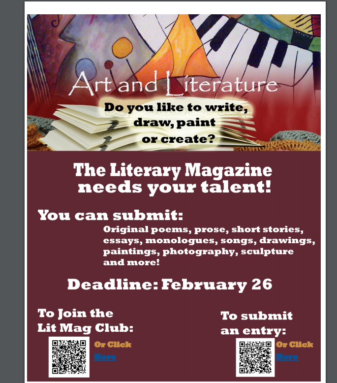 Submit to Literary mag