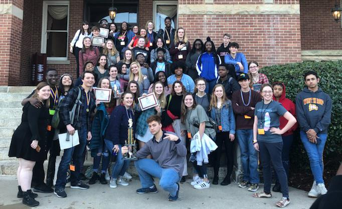 Dreher Drama Students Qualify for National Competition