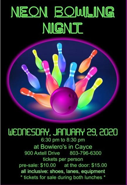 Join Us for a Night of Neon Bowling