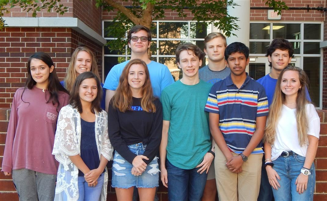 Ten Dreher Seniors are National Merit Semifinalists