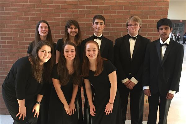 Eight Students Named to Region Orchestra