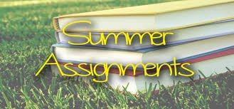Summer Assignments for Students Returning To Dreher