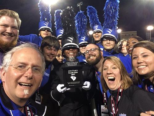 Marching Band finishes 9th in State Competition