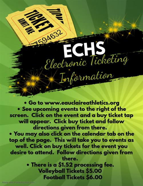 ECHS Electronic Ticketing Instructions