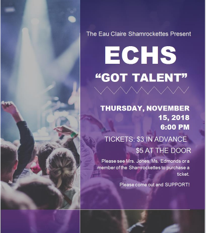 "Shamrockettes Present ECHS ""Got Talent"""