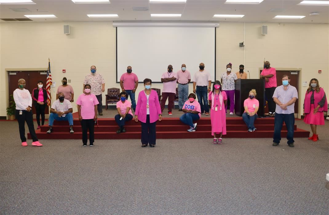 Heyward's Pink Out Day