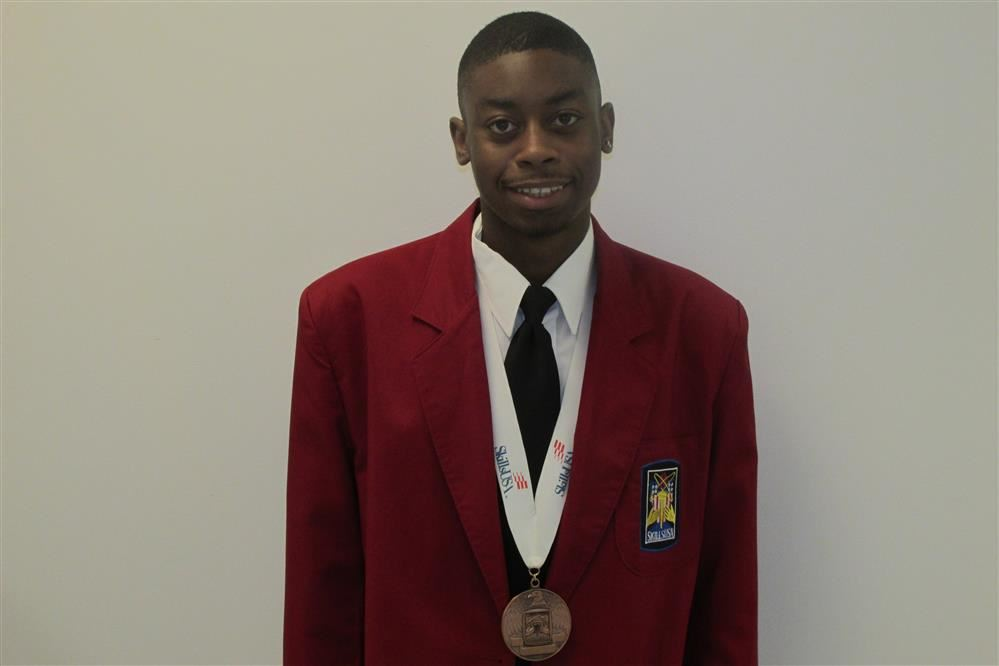 SkillsUSA Award Recipient