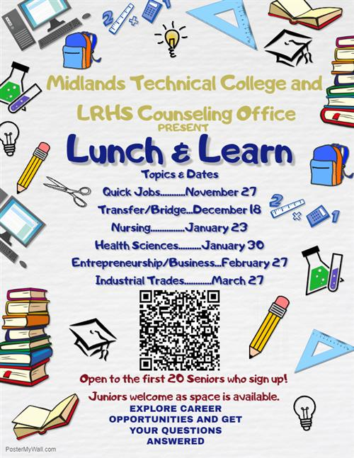 MTC Lunch and Learn Flyer