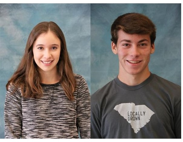 Porter Burkett and Leah Vazsonyi Win National Merit Scholarships