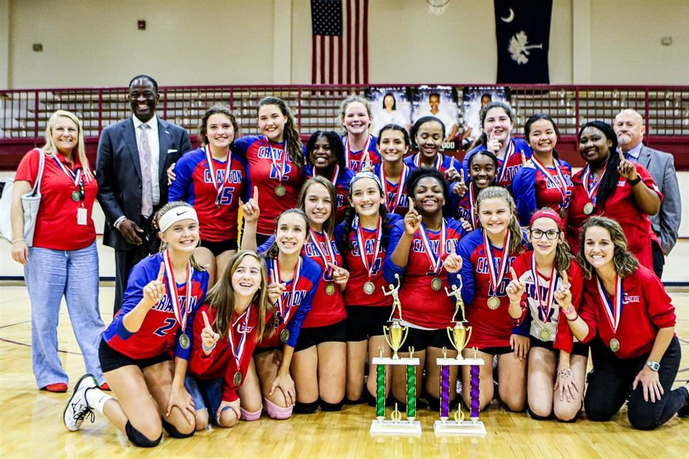 2019 District Volleyball Championship Team Photos