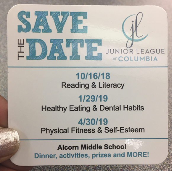 Save the Date Junior League