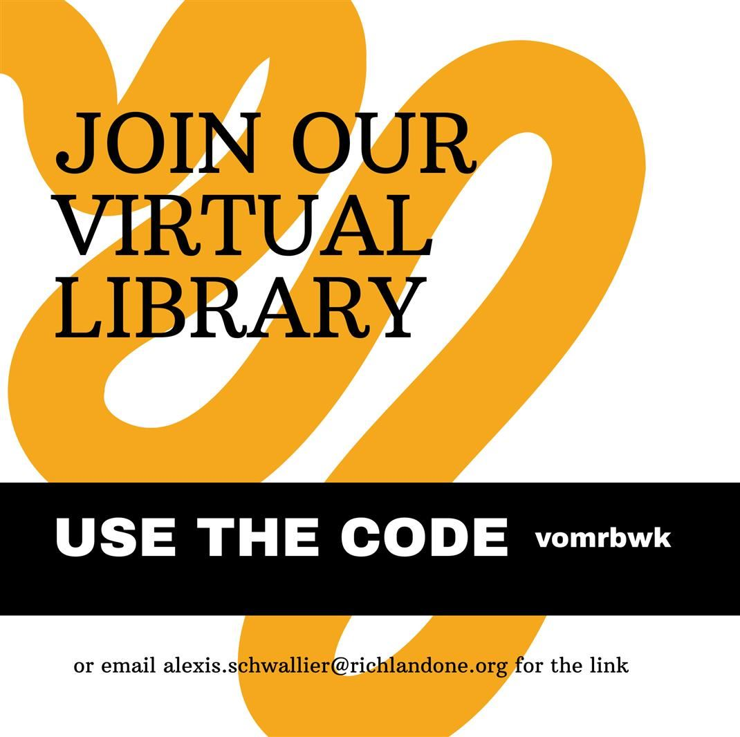Join our virtual library using the code vomrbwk